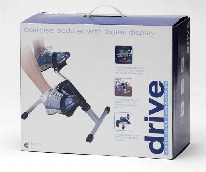 Pedal Exerciser Hs Code: DRIVE MEDICAL Pedal Exerciser With Digital Display
