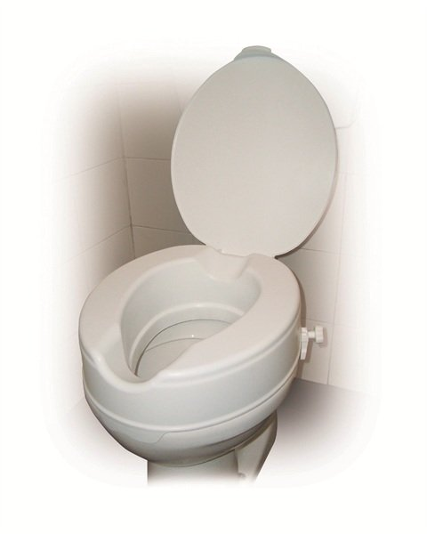 Peachy Drive Medical Raised Toilet Seat With Lid 12065 Pdpeps Interior Chair Design Pdpepsorg
